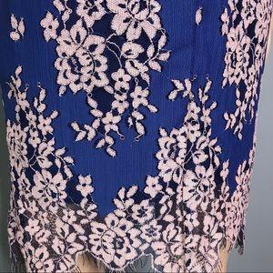 Minuet Dresses - Blue lace dress by Minuet